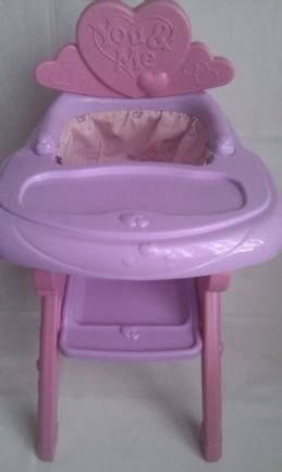 Adorable Baby Doll 'You & Me' Baby High Chair